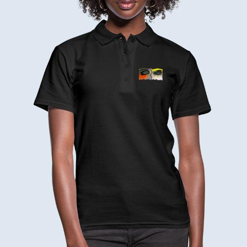 """Augenblick """"closed eyes"""" made in Berlin - Frauen Polo Shirt"""