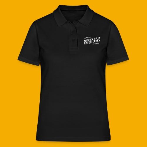 tshirt wht 01 png - Women's Polo Shirt