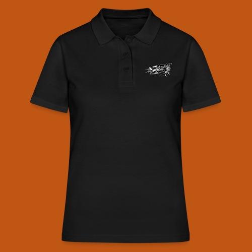 Flieger / Airplane 01_schwarz weiß - Frauen Polo Shirt