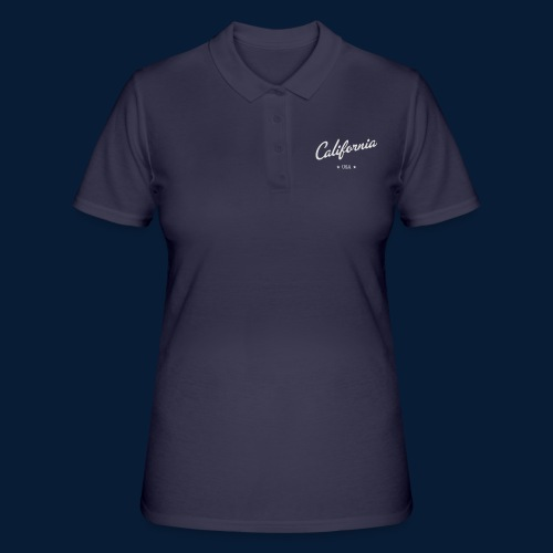 California - Frauen Polo Shirt