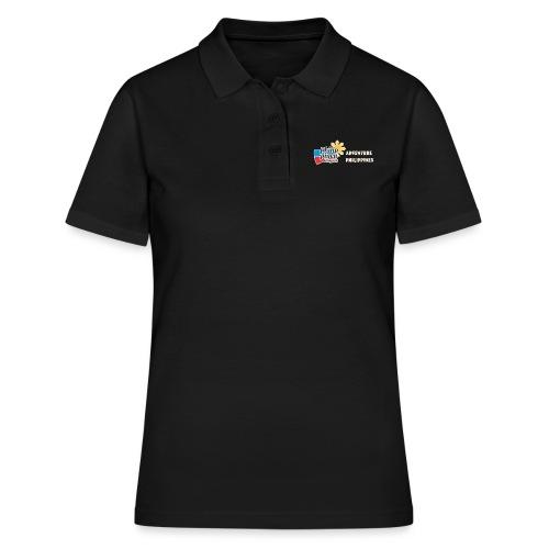 Philippinen-Blog Logo english orange/weiss - Frauen Polo Shirt