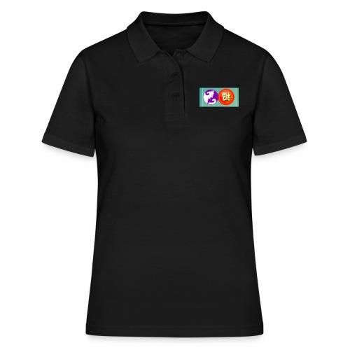 ying yang chat et bohneur japonnais - Women's Polo Shirt