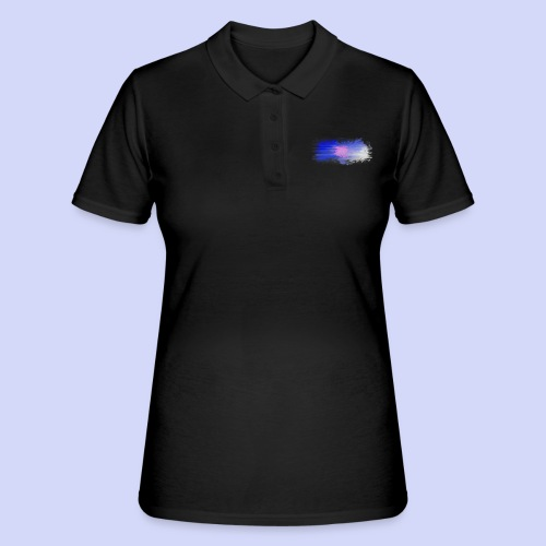 Blue lights - Female shirt - Women's Polo Shirt