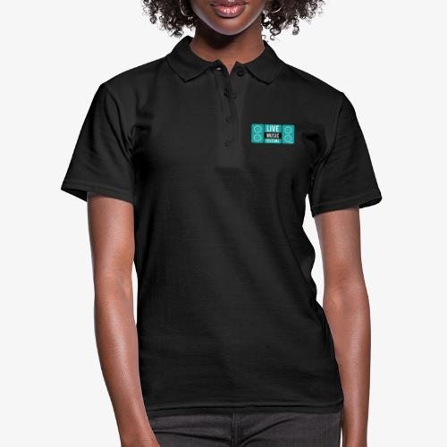 Amo la música - Camiseta polo mujer