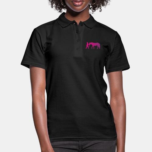 Mädchen führt Pferd, Horsemanship - Frauen Polo Shirt