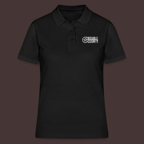 Trouble County Logo - Women's Polo Shirt