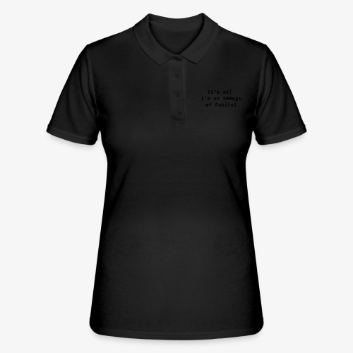 Geek fukitol fun Tee by patjila - Women's Polo Shirt