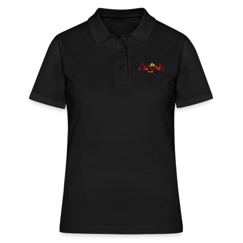 logo gerastert (flamme) - Frauen Polo Shirt