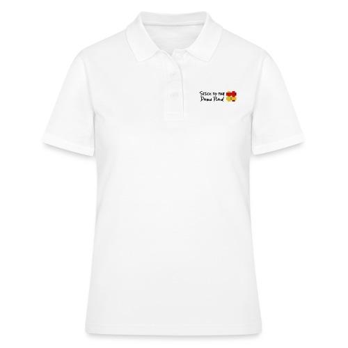 Stick to the Damn Plan - Women's Polo Shirt