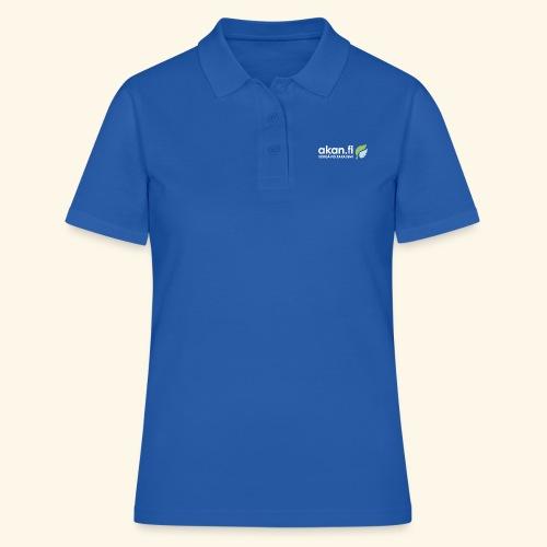 Akan White - Women's Polo Shirt