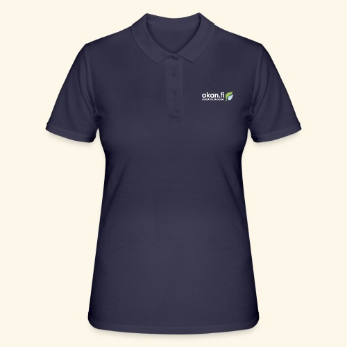Akan White - Women's Polo Shirt