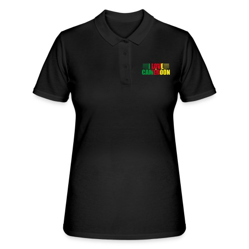 love cameroun - Women's Polo Shirt