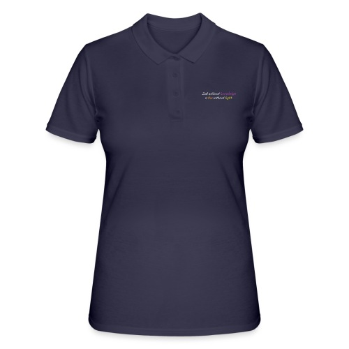 Say with colors - Women's Polo Shirt