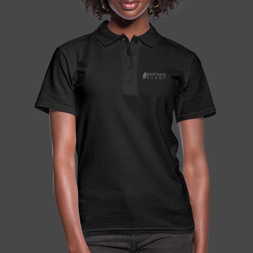Hauptsach' Dicht - Frauen Polo Shirt