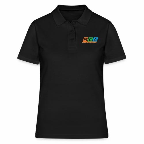 logo complet TRANSPARENT - Women's Polo Shirt