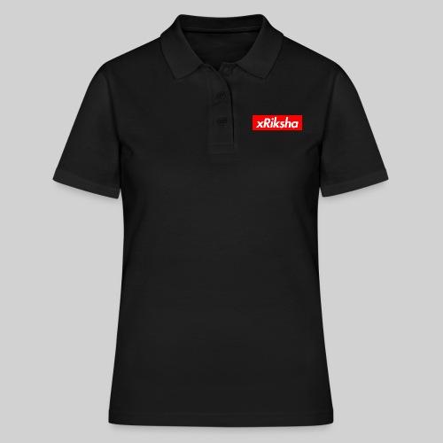xRiksha - Box logo - Naisten pikeepaita