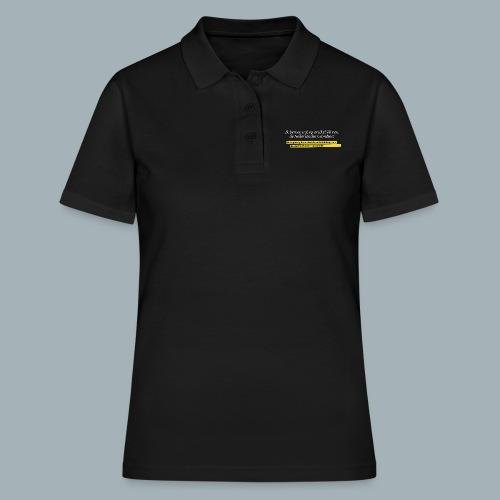Nederlandse Grondwet T-Shirt - Artikel 90 - Women's Polo Shirt