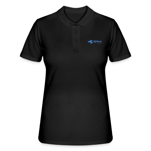 Sjölivet podcast - Svart logotyp - Women's Polo Shirt