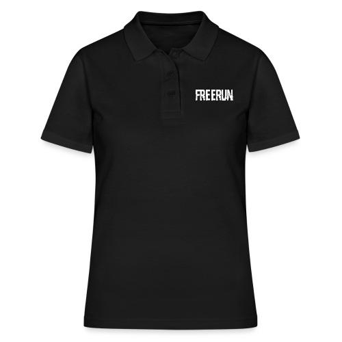logo freerun - Polo Femme
