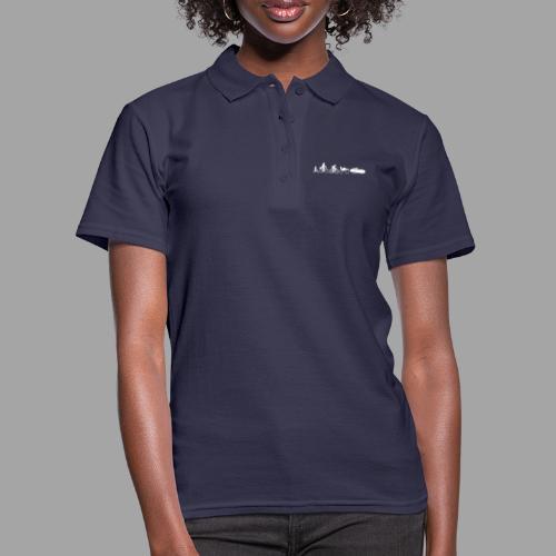 Bicycle evolution white - Women's Polo Shirt