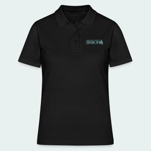 SMILE-Shirt 2018 - Frauen Polo Shirt
