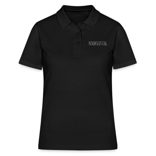 nichtlustig - Frauen Polo Shirt