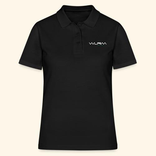 WLRM Schriftzug white png - Frauen Polo Shirt