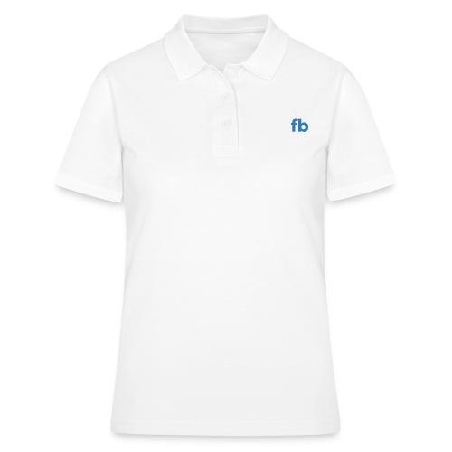 RestFB logo white - Women's Polo Shirt