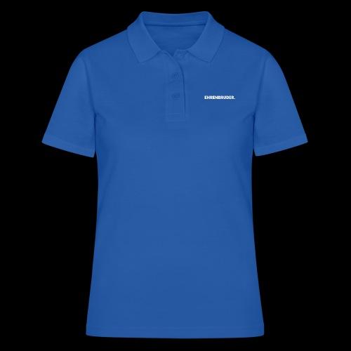 EHRENBRUDER-White - Frauen Polo Shirt