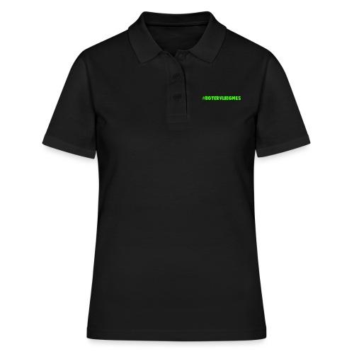 #Botervliegmes T-shirt (vrouwen) - Vrouwen poloshirt