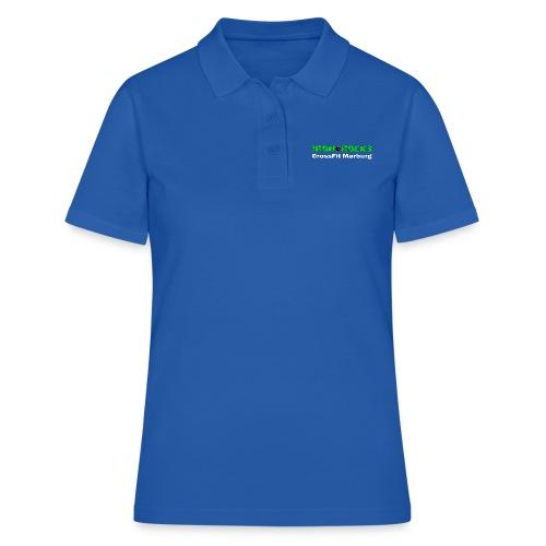 Schriftzug lang - Frauen Polo Shirt