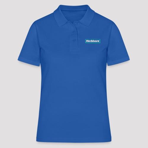 Herbivore Logo White - Women's Polo Shirt