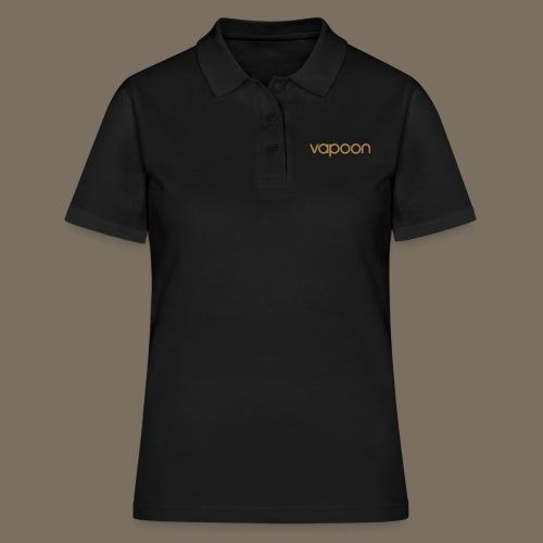 Vapoon Logo simpel 01 - Frauen Polo Shirt