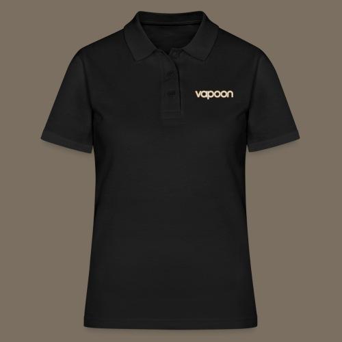 Vapoon Logo simpel 2 Farb - Frauen Polo Shirt