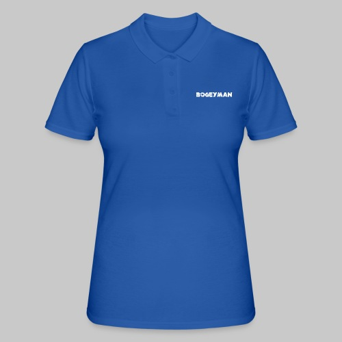 valkoinen - Women's Polo Shirt