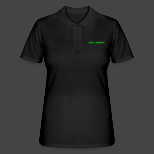 Bassphemie - Neongrün - Frauen Polo Shirt