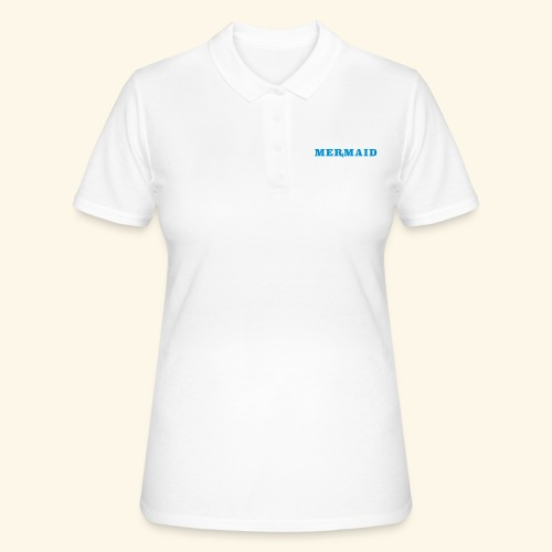 Mermaid logo - Women's Polo Shirt