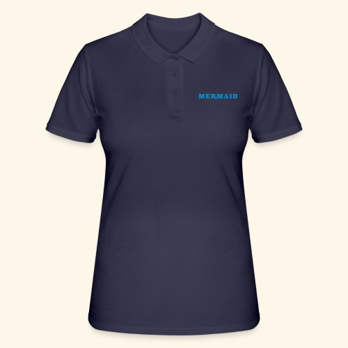 Mermaid logo - Women's Polo Shirt