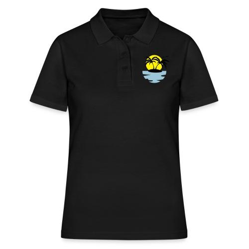 Island, Sun and Sea - Women's Polo Shirt
