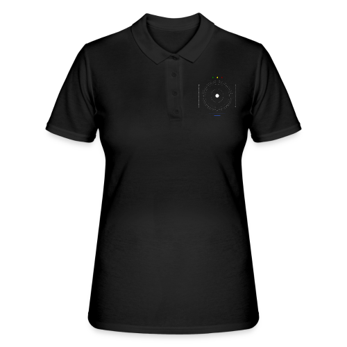 Logo moon #1 - Women's Polo Shirt