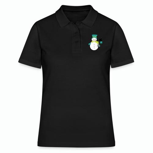 Snowtime-Green - Frauen Polo Shirt