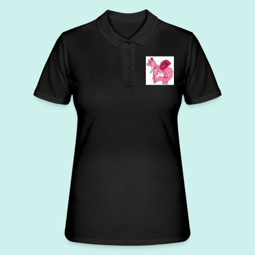 pink_cat - Naisten pikeepaita