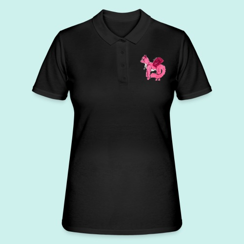 pink_cat_ei_taustaa - Naisten pikeepaita