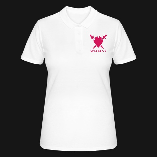 Das Walkeny Logo mit dem Schwert in PINK! - Frauen Polo Shirt