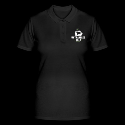 Untraveled Road Logo - weiß - Frauen Polo Shirt