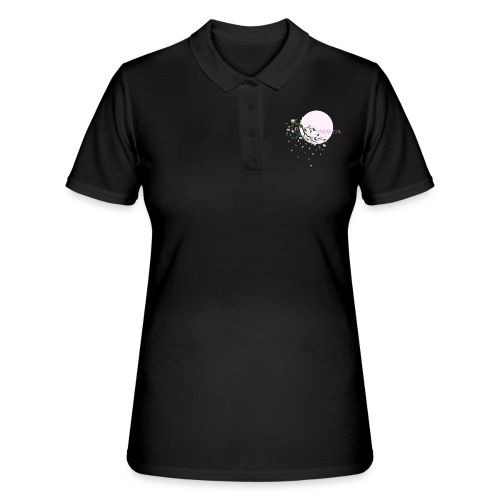 Cherry Blossom Festval Full Moon 1 - Frauen Polo Shirt