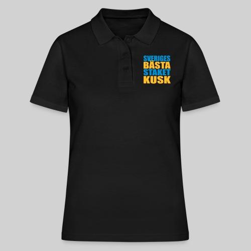 Sveriges bästa staketkusk! - Women's Polo Shirt