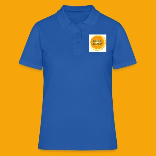 Orange_Logo_White - Women's Polo Shirt