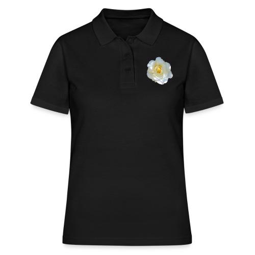 A white rose - Women's Polo Shirt