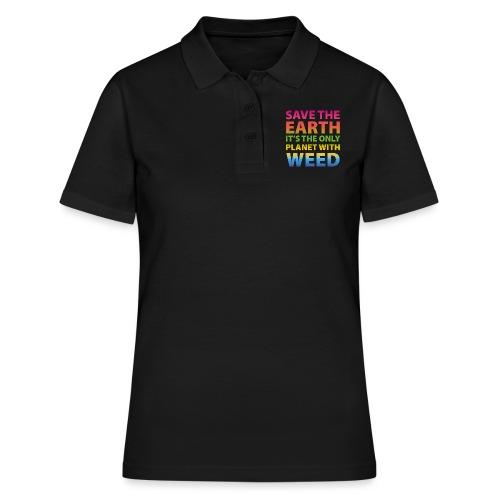 weed - sauve la terre - Polo Femme